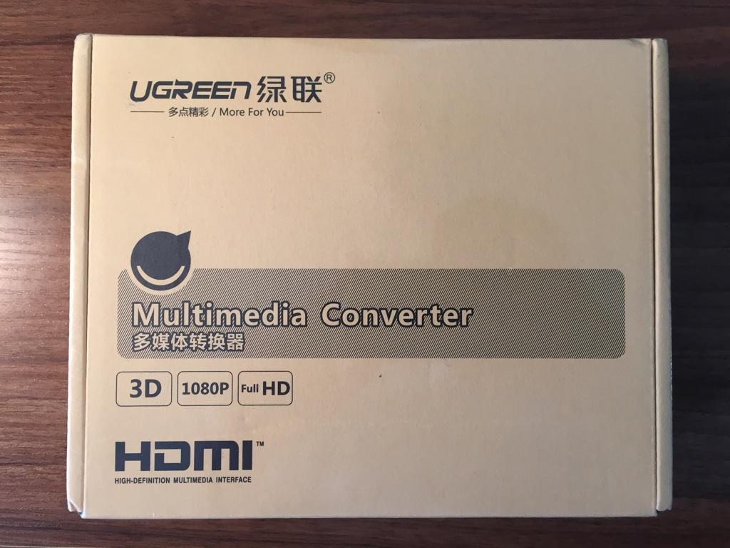 HDMI 切换器包装